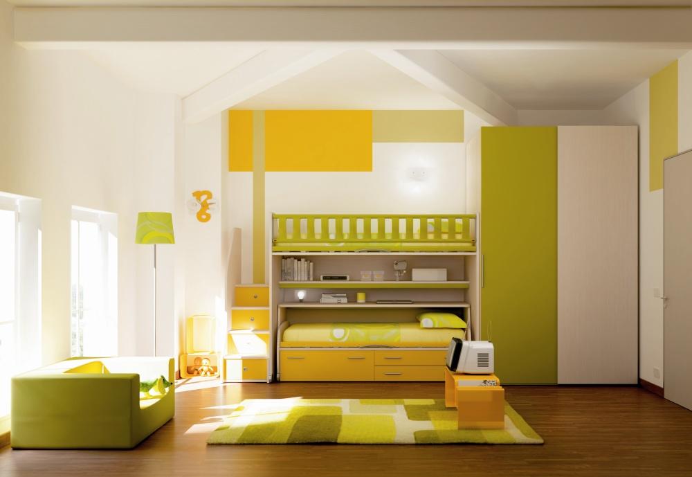 Chambre couleur enfants