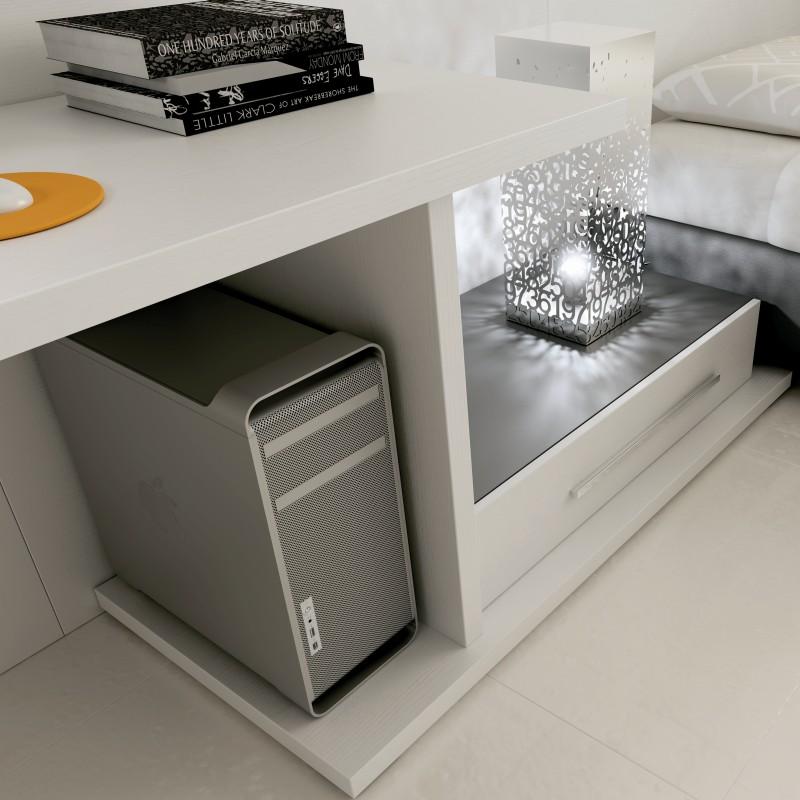 chambres lits ponts. Black Bedroom Furniture Sets. Home Design Ideas